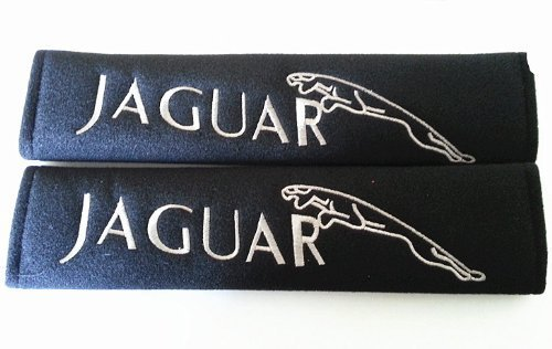 Jaguar Car Cover (Jaguar Seat Belt Cover Shoulder Pads 2 pcs)