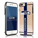 Forever Collectibles NFL Hydro Clear 3D Print iPhone 7 Plus Case - Seattle Seahawks