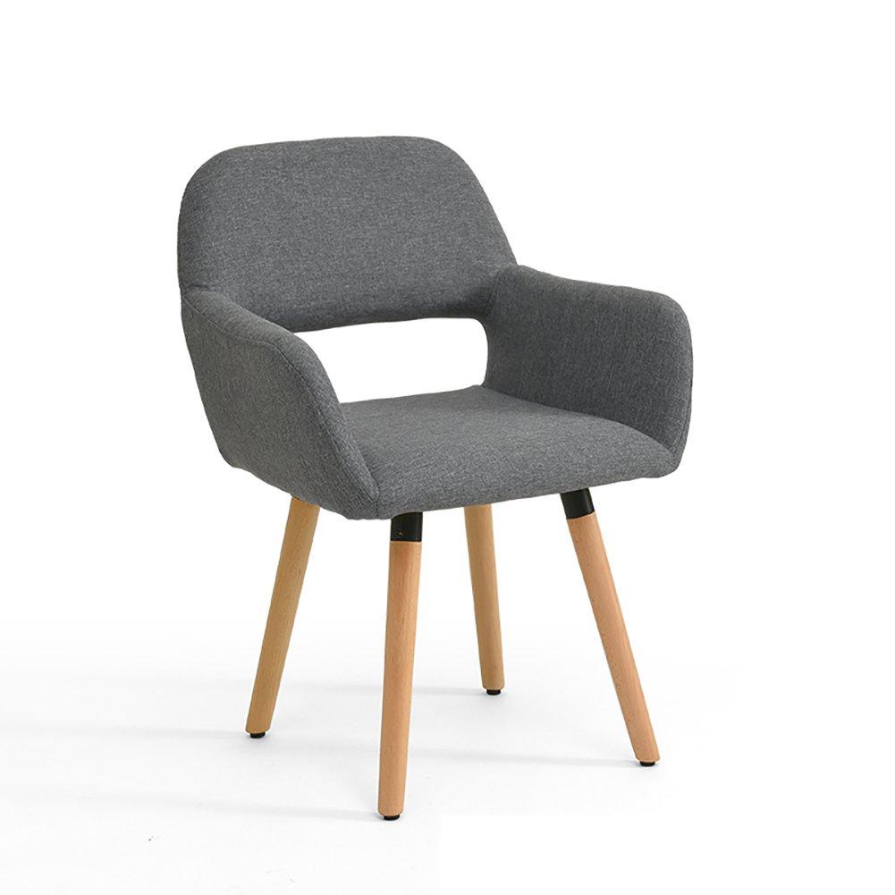 ZJMキッチン椅子アームチェアダイニングチェア中空背もたれ椅子ミュートフットパッド研究椅子オフィスパッド入り椅子 (色 : C, サイズ さいず : Set of 2) B07F689MVJ Set of 2|C C Set of 2