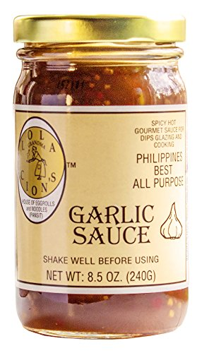 Lola Cion's Garlic Sauce, 8.5 Fluid Ounce. All natural multi-purpose sauce. No MSG. Low calorie count. Excellent sauce for dipping and cooking.