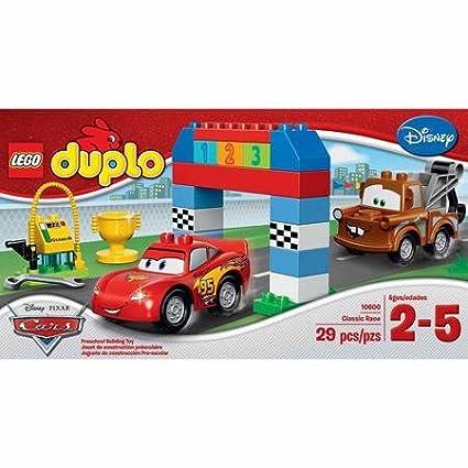 Amazon.com: LEGO Duplo Cars Disney PIXAR CARS clásico race ...