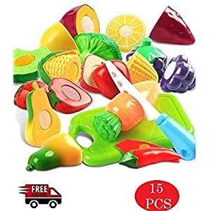 Kingwell Realistic Sliceable Cutting Fruits...