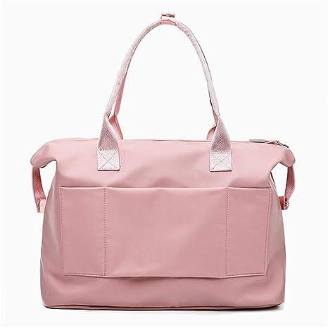 Amazon.com: EASON Sport Bags,Female Travel Gym Bag Folding ...