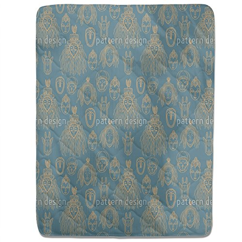 African Trophies Fitted Sheet: King Luxury Microfiber, Soft, Breathable by uneekee