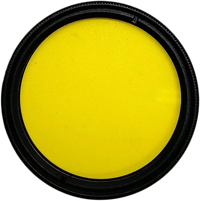 Balaweis 43mm Yellow Full Color Lens Filter for DSLR Camera Lens Accessory with 43MM Filter Thread