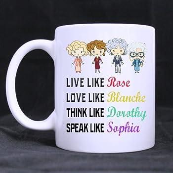 amazoncom funny golden girls mug 13oz coffee mug