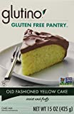 Glutino Gluten-Free Pantry Old Fashioned Yellow Cake Mix, 6 Count