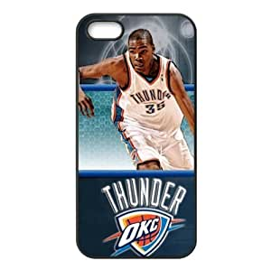 Oklahoma City Thunder Kevin Durant Image Design iPhone 5/5s TPU Case-by Allthingsbasketball