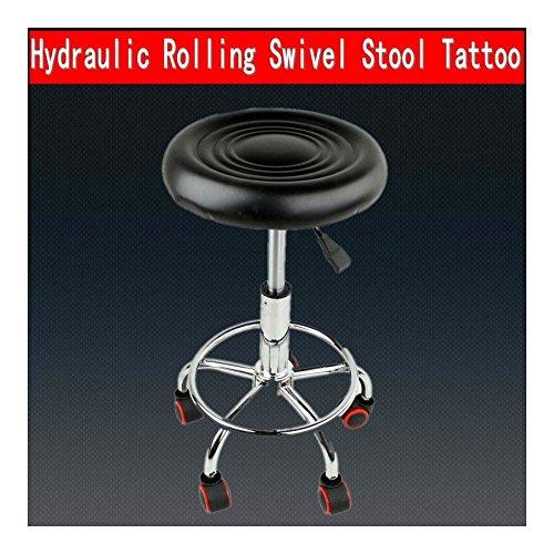 Adjustable Swivel Salon Stool Hydraulic PU Barber Rolling Massage Tattoo Chair from Unknown