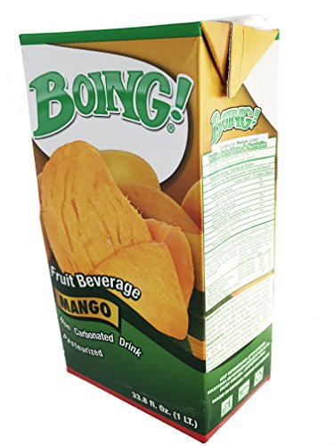 Price comparison product image Boing Mango Fruit Beverage Pack of 5