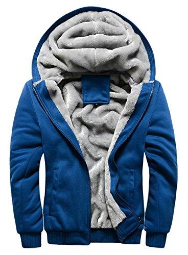 Hooded Fleece Coat - 8