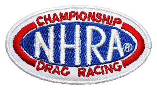 NHRA Drag Racing Pro Stock Races Game Patch Sew Iron on Logo Embroidered Badge Sign Emblem Costume BY Dreamhigh_skyland