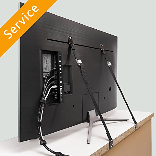 Furniture Wall Strap Installation - 5 Pieces -