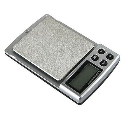 SODIAL(R) Bascula Digital Portatil 0.1 X 1000 GRAMO