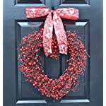 Elegant-Holidays-Handmade-Red-Berry-Heart-Shaped-Wreath-Decorative-Front-Door-to-Welcome-Guests-for-Outdoor-Indoor-Home-Wall-Accent-Dcor-Great-for-Valentines-Day-All-Seasons-Year-Round-Wreath
