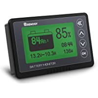 Renogy 500A Battery Monitor, High and Low Voltage Programmable Alarm, Voltage Range 10V-120V and up to 500A, Compatible…
