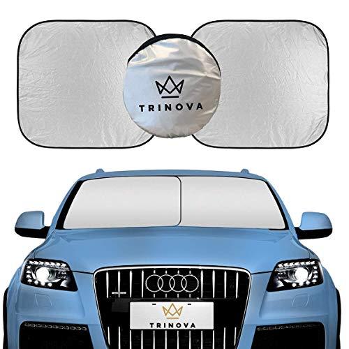 TriNova Car Sun Shade Windshield, Sunshade Cover Maximum UV Protection, Universal fit Easy Storage