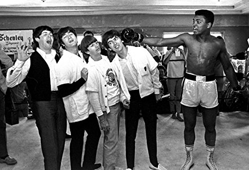 The Beatles and Muhammad Ali Photo Print