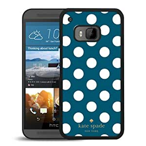 Beautiful DIY Designed Kate Spade Cover Case For HTC ONE M9 Black Phone Case 289