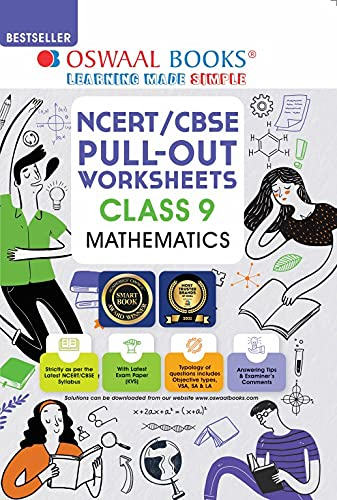 Oswaal NCERT & CBSE Pullout Worksheets Mathematics Class 9 (For 2022 Exam)