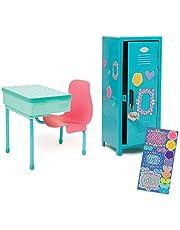 """Maplelea School Desk and Locker Set for 18"""" Dolls"""