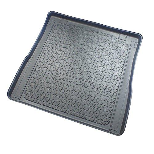 ZentimeX Z747260 Vasca baule su misura con superficie scanalata e integrato tappeto antiscivolo
