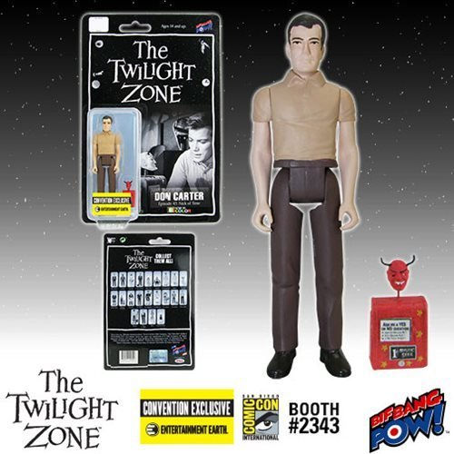 Twilight Zone Don Carter 3 3/4-Inch Figure In Color-Con.Excl