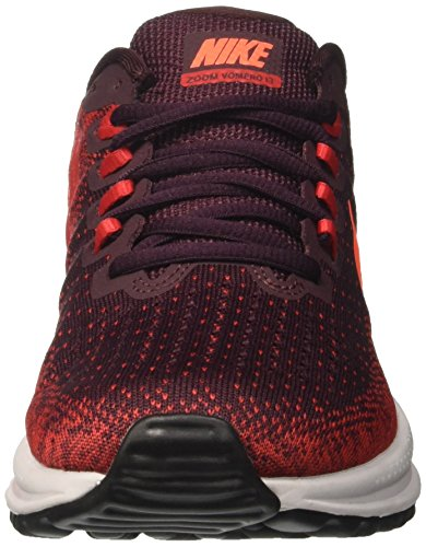 Nike Mens Air Zoom Vomero 13 Pattino Corrente Profonda Bordeaux / Porpora Totale