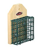 Kettle Moraine Wall Mount Screw on Single Suet Cake Feeder