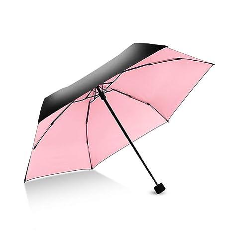 Paraguas de sol y lluvia de viaje compacto, Masayume home Paraguas ...