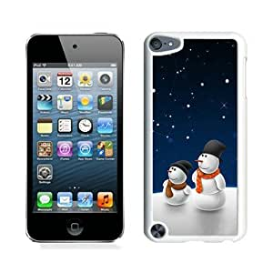 2014 Newest Christmas snowman White iPod Touch 5 Case 18Kimberly Kurzendoerfer