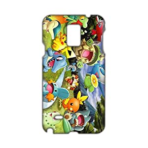 dibujos para colorear de pokemon 3D Phone Case for Samsung NOTE 4