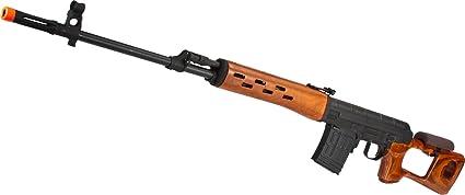 Amazon com : Evike - Matrix CYMA AK SVD Airsoft AEG Sniper