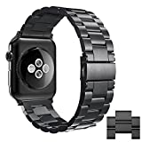 Simpeak Apple Watch 3 Band, Adjustment Stainless Steel...