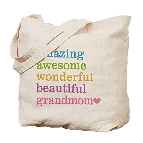 CafePress Tote Bag - Grandmom - Amazing Awesome Tote Bag by CafePress