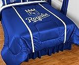MLB Kansas City Royals Sidelines Comforter, Twin, Bright Blue