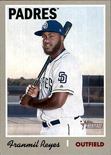 2019 Topps Heritage #425 Franmil Reyes San Diego Padres SP SHORTPRINT MLB Baseball Card ()