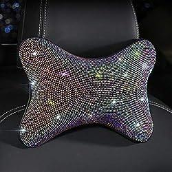 Diamond Crystal Headrest Cushion for Neck