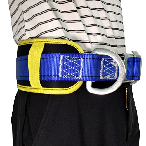 Aoneky Body Belt with Hip Pad and Side D-Ring, Fall Arrest Safety Harnesses by Aoneky (Image #3)
