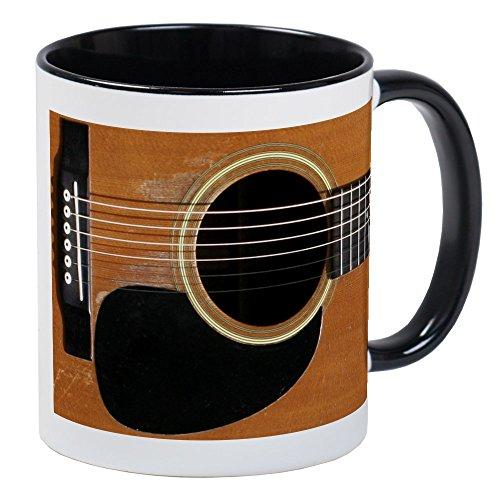CafePress Old, Acoustic Guitar Mug Unique Coffee Mug, Coffee Cup ()