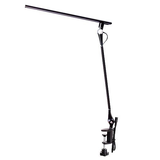 ROZKY Lámpara de escritorio LED, lámpara de mesa de cuidado de ...