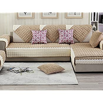 Great ZebraSmile 1 Pcs Various Sizes Corduroy Sofa Towel Cover Decrotive Sofa  Cover Antiskid Sofa Cover For