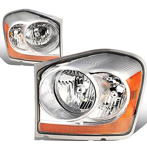 - For Durango Pair of Chrome Housing Amber Corner Headlight Lamp