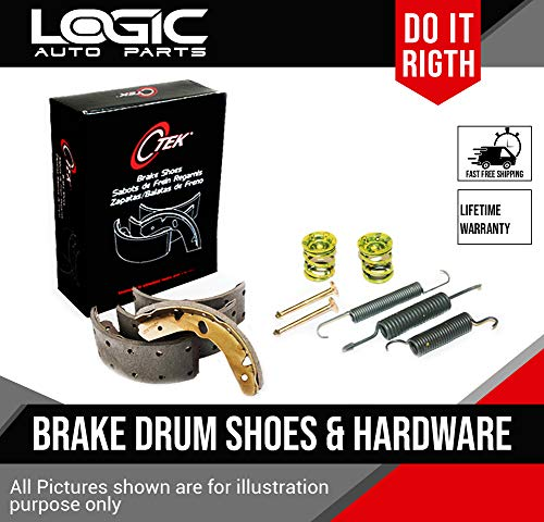 Centric Drum Brake Shoe + Hardware Fits Chevrolet Equinox, Saturn Vue, Pontiac Aztek, Torrent