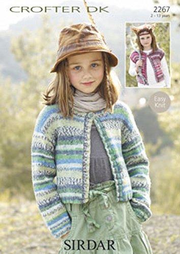 Sirdar Crofter Dk Childrens Knitting Pattern 2267 Amazon