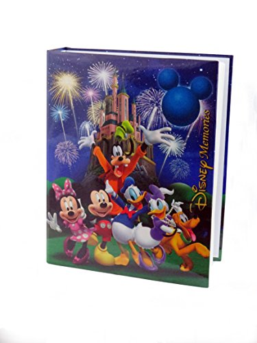 Disney Exclusive Mickey Mouse & Friends ''Disney Memories'' Blue Photo Album Holds 200 Photo Size Up To 4''X 6'' by Disney