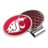 LinksWalker NCAA Washington State Cougars - Golf Hat Clip with Ball Marker
