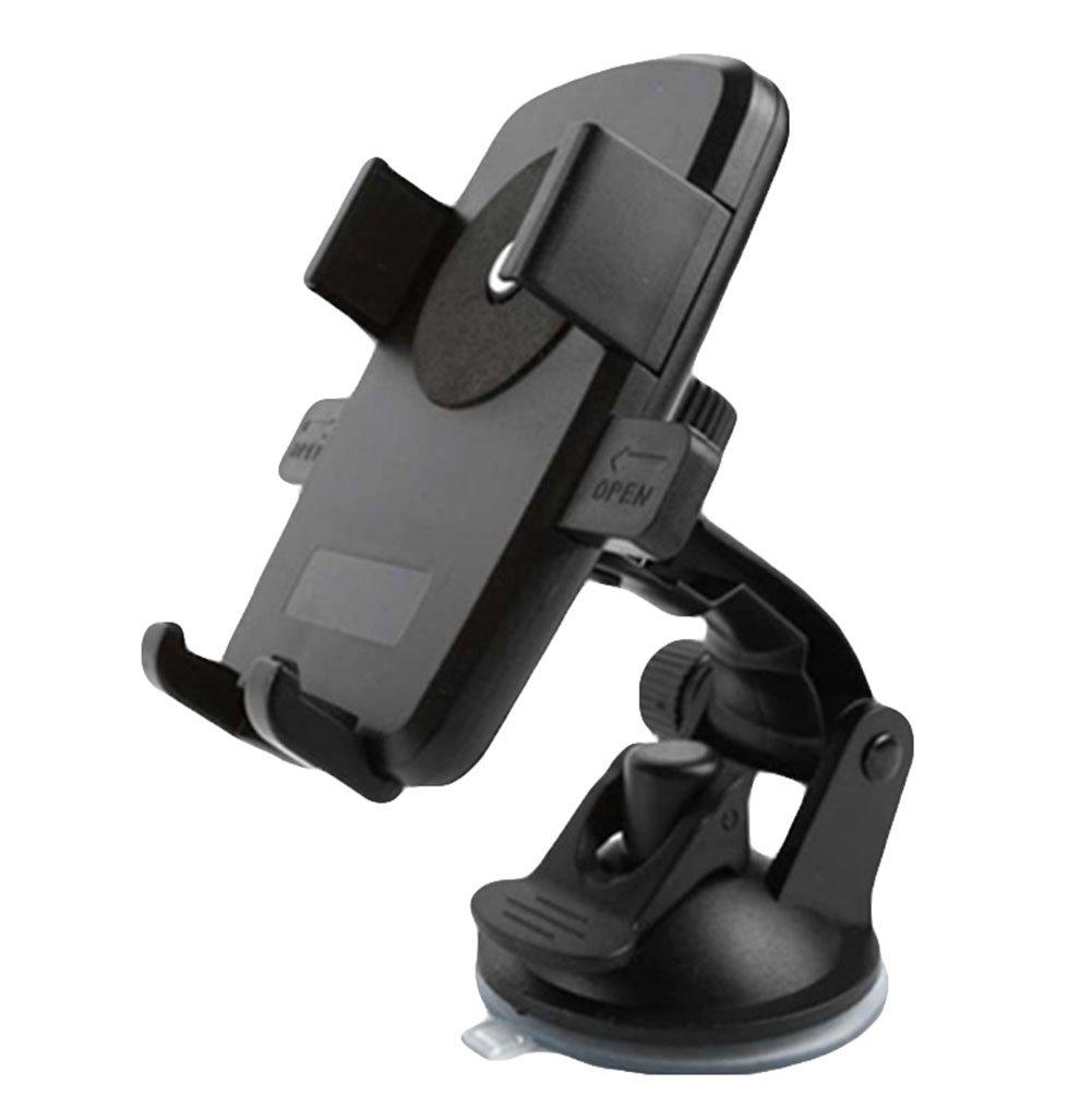 Galaxy S 8 // S7 // S6 Rand S5 6s // 6 Plus 5s Demarkt KFZ HandyHalterung 360 Grad Universal Sauger Saugnapf Windschutzscheibe Autohalterung Auto Halter f/ür iPhone X // 8 7 // 7Plus Rot