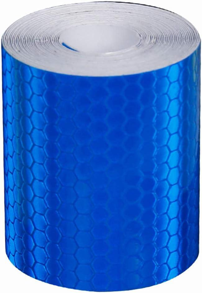 Gcroet 1pc Multi Reflektierende Sicherheitsaufkleber Reflektorb/änder F/ür Fahrrad-nachtverkehr Sicherheit Warnung Reflexion Aufkleber Silber