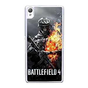 Protection Cover Huoui Sony Xperia Z3 Cell Phone Case White Battlefield Personalized Durable Cases